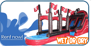 salt lake city inflatable water slide rentals