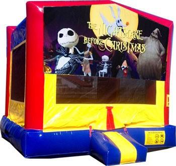 Nightmare Before Christmas Bounce House - Bounce Houses | Salt ...