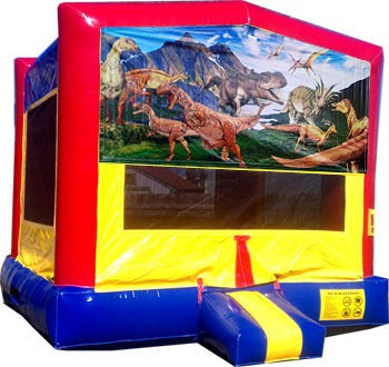 Brilliant Dinosaurs Bounce House Home Interior And Landscaping Ferensignezvosmurscom