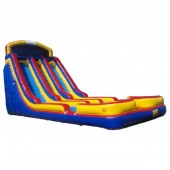 24ft Twin Torpedo Water Slide