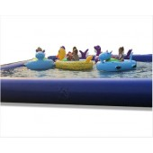 5 Bumper Boats and 30ft Pool