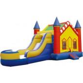 Castle Bounce Slide combo (Wet or Dry)