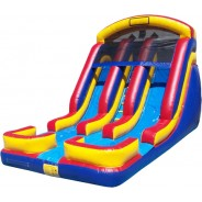 20ft Twin Torpedo Wet/Dry Slide