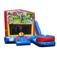 Western Fun 7N1 Bounce Slide combo (Wet or Dry)