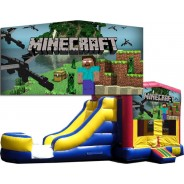 Minecraft Bounce Slide combo (Wet or Dry)