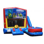 Monsters Inc 7n1 Bounce Slide combo (Wet or Dry)