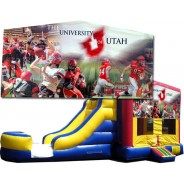 University of Utah (Utes) Bounce Slide combo (Wet or Dry)