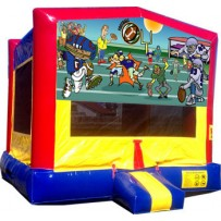 (C) Football Bounce House
