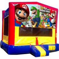Mario Bros Bounce House
