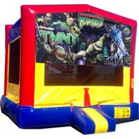 (C) Teenage Mutant Ninja Turtles Bounce House