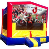 (C) University of Utah (Utes) Bounce House