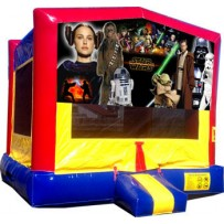 (C) Star Wars Bounce House