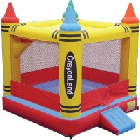 (A) Crayon Bounce House