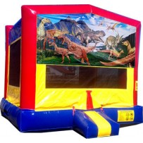 (C) Dinosaurs Bounce House
