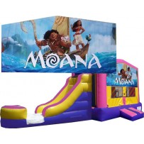 Moana Bounce Slide combo (Wet or Dry)