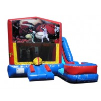 Sports Banner 7n1 Bounce Slide combo (Wet or Dry)