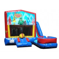Yo Gabba Gabba 7n1 Bounce Slide combo (Wet or Dry)