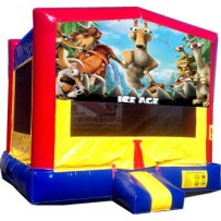 (C) Ice Age Bounce House