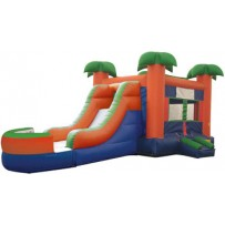 Paradise Bounce Slide combo (Wet or Dry)