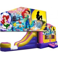 Little Mermaid Bounce Slide combo (Wet or Dry)