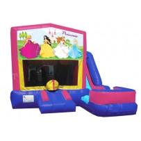 Princess Banner 7n1 Bounce Slide combo (Wet or Dry)
