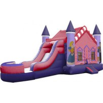 Princess Castle Bounce Slide combo (Wet or Dry)