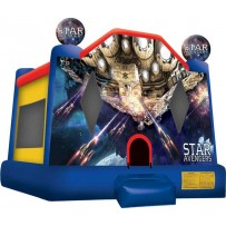 Star Avengers Bounce House Large