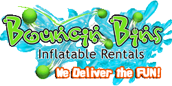 Utah inflatable rentals - slides, bounce houses, obstacle courses, w