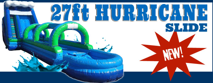 large inflatable bounce slide