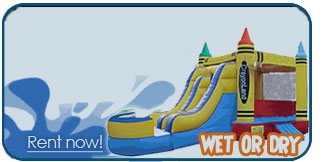 salt lake city inflatable bounce house slide rentals