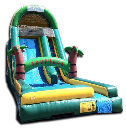 20ft Tropical Dry Slide