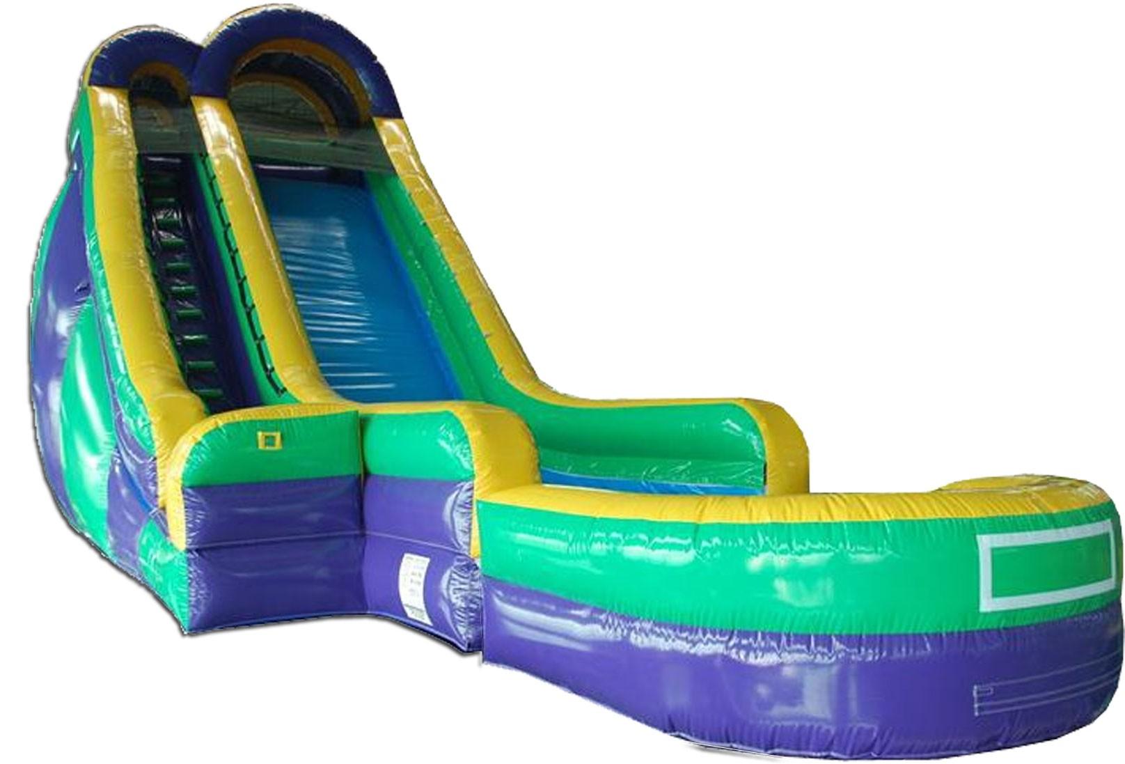 24ft Screamer Wet/Dry Slide Rental