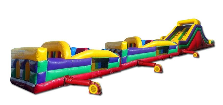 95ft obstacle course