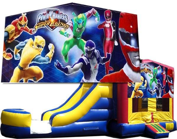 Power Rangers Bounce Slide combo (Wet or Dry)
