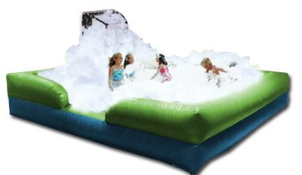 foam pit and bubble machine