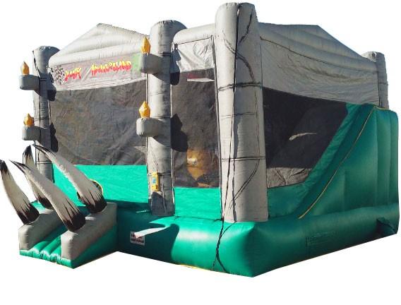 Jurassic Adventure Bounce Slide Combo (Dry)