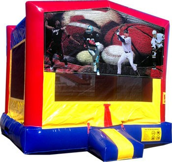 Sports Banner Bounce House