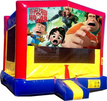 Wreck It Ralph Bounce House