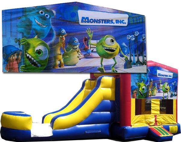 Monsters Inc Bounce Slide combo (Wet or Dry)