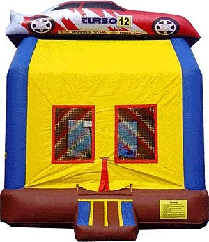 (B) Race Car Bounce House