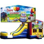 Happy Birthday Bounce Slide combo (Wet or Dry)