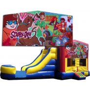 Scooby-Doo Bounce Slide combo (Wet or Dry)