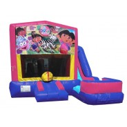 Dora The Explorer 7N1 Bounce Slide combo (Wet or Dry)