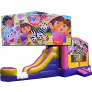 Dora The Explorer Bounce Slide combo (Wet or Dry)