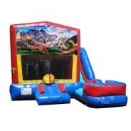 Dinosaurs 7n1 Bounce Slide combo (Wet or Dry)