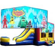 Yo Gabba Gabba Bounce Slide combo (Wet or Dry)