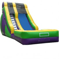 18ft Screamer Dry Slide Rental