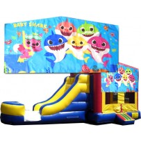 Baby Shark Bounce Slide combo (Wet or Dry)