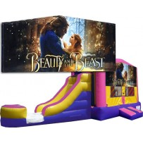 Beauty and the Beast Bounce Slide combo (Wet or Dry)