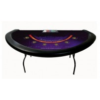 Black Jack rental casino table